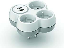 Triplite 16A + 2 ports USB