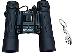 Compact Comet Binocular 10x25 With Powerful Lens 101 to 1000m Vision