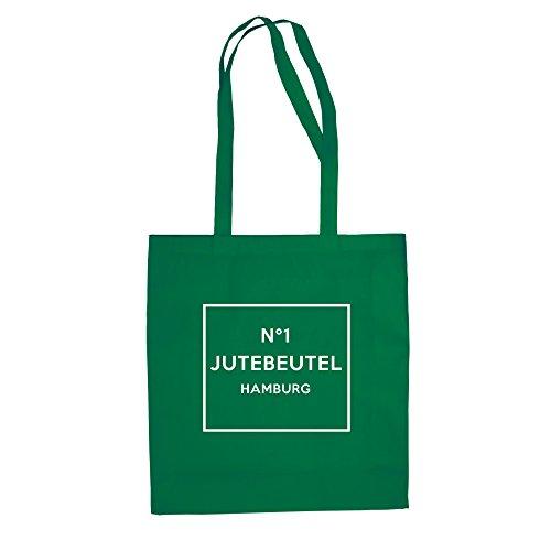 No1 - Borsa Di Juta - Hamburg - Di Shirt Kellygreen-white