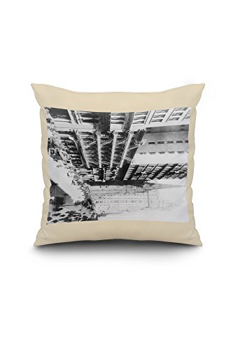 american-express-building-on-broadway-north-nyc-photo-20x20-spun-polyester-pillow-case-white-border
