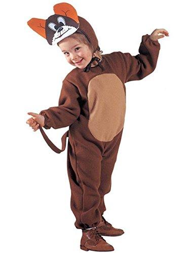 Größe 110-3 - 4 Jahre - Kostüm - Verkleidung - Karneval - Halloween - Maus - Micky Maus - Farbe Braun - Kind - Tom und Jerry