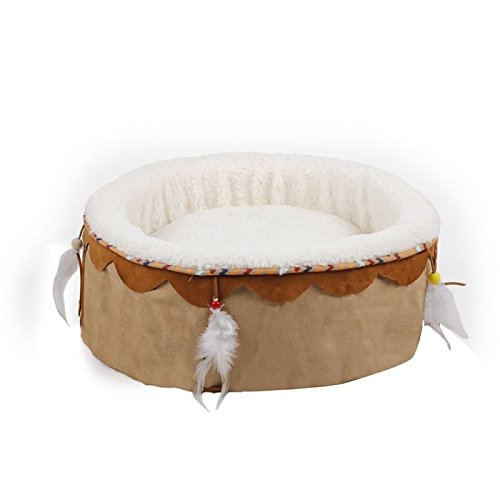 All for Paws Bettwäsche Dreams Catcher, 41 x 41 x 18 cm, beige
