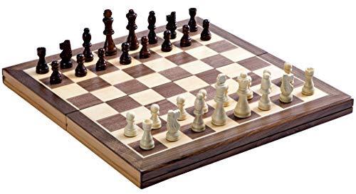 Jaques-Faltschachset-15-Zoll-Komplett-mit-3-Zoll-Schachfiguren-Qualittsschach-seit-ber-150-Jahren