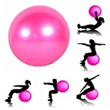 #9: JERN Anti-burst Fitness Exercise Stability Yoga Ball / Swiss, Birthing, gym Ball 65 CM (Random color)