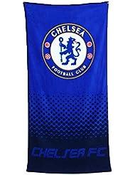 Chelsea FC club de football de plage bleu serviette bain fan fanent officielle