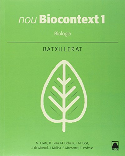 Nou Biocontext 1. Biologia - edició 2016 - 9788430753574