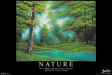 BOB Ross Nature Poster Drucken (91,44 x 60,96 cm)