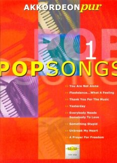 POPSONGS 1 - arrangiert für Akkordeon [Noten / Sheetmusic] aus der Reihe: AKKORDEON PUR