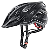 Uvex Fahrradhelm City light Anthracite Mat, 52-57 cm