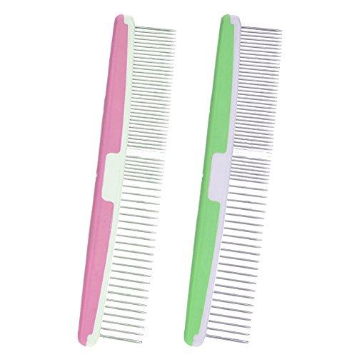 Samber anti-statischen geraden Kamm, entfernt fallende Haare, Schmutz und verhindert Haar Knotting.Random Farbe