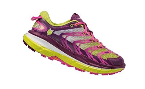 01f16703c95c2 Hoka One One Speedgoat Womens Trail Running Shoes - Plum/Fusia/Acid, 7.5 UK