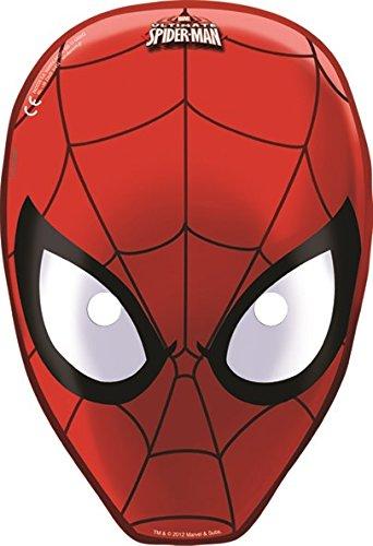 (Gabbiano 6 Spiderman-Masken)
