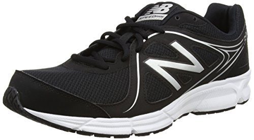 New Balance - M390bw2-390, Scarpe Running Uomo Multicolore (Black/White 048)