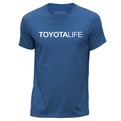 stuff4-herren-gross-l-konigsblau-rundhals-t-shirt-auto-leben-liebe-toyota