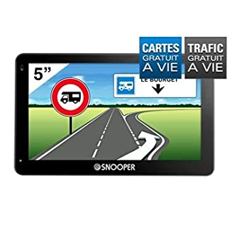 Snooper-CC5400-Central-Europe-Ecran-127-cm-Car-GPS-4-GB-schwarz