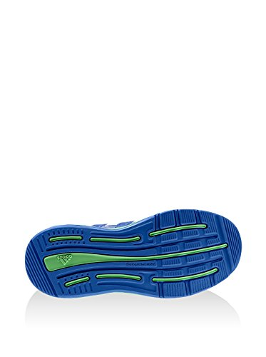 Adidas LK sport CF Kids - blau - grün - weiß