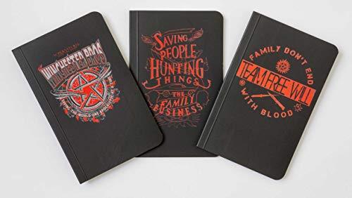 Supernatural Pocket Notebook Collection (Set of 3) por Insight Editions