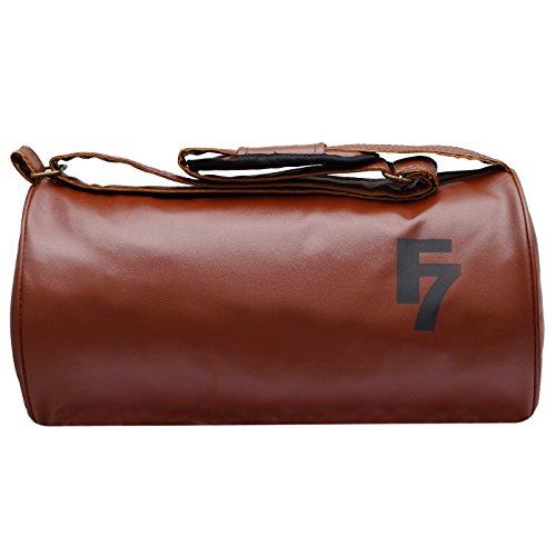 dad27865f6 Fashion 7 Leather Tan Gym Totes