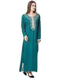 musulmano vestito islamico donne raion abaya 1631 0734f6212f3