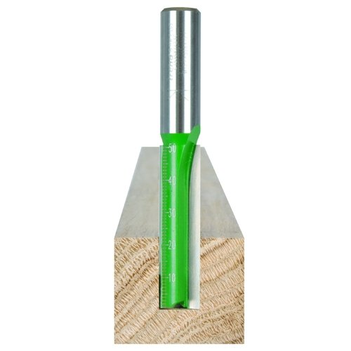 Trend - Deux Flûte 12.7mm diamètre x 50mm Échelle de Coupe Diminution