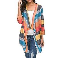 ZHMEI Winter Coats For Women, Ladies Casual Soft Open Front Lightweight Sweater Loose Long Sleeve Coat Cardigan (Medium, Orange)