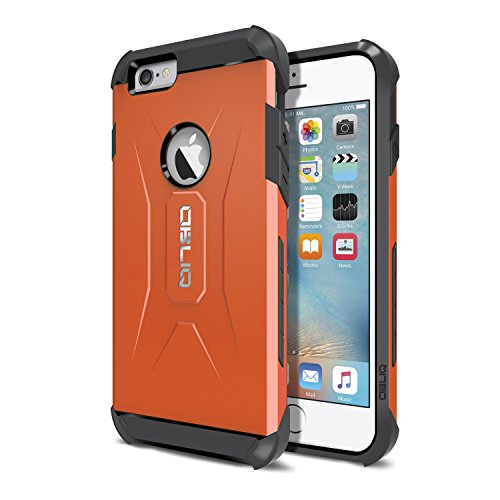 Obliq OBIP6-XTP02 Xtreme Pro Case für Apple iPhone 6/6S gun metal Orange