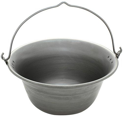 Gulaschkessel 10 Liter aus Eisen
