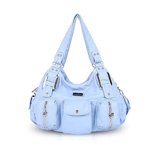 NICOLE & DORIS Frauen Hobo Handtaschen slouch Umhängetaschen Totes Große Crossbody, Leder (Handtaschen Für Frauen Slouch)