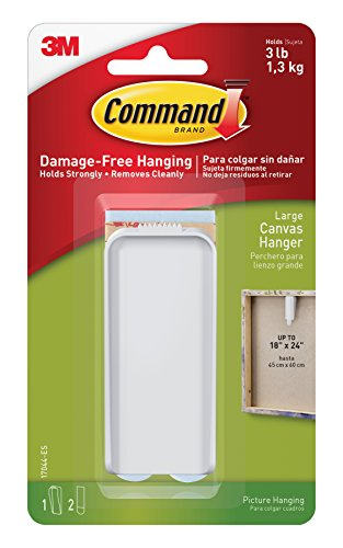 3m-command-large-canvas-hanger-white-hanger-and-2-strips-acrylic-multicoloured-4-piece