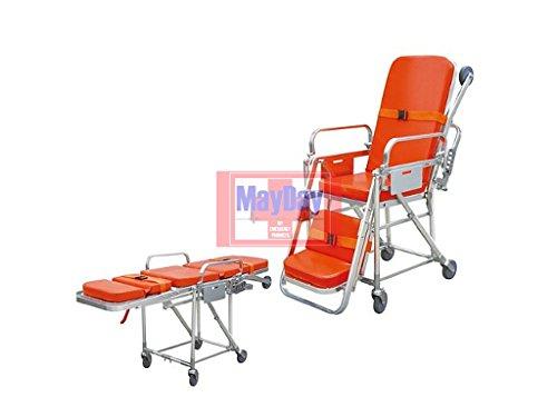 Medical Notfall Treppe Keilrahmen Cabrio in einem Stuhl 191-015C 191-mayday