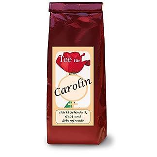 Carolin-Namenstee-Frchtetee