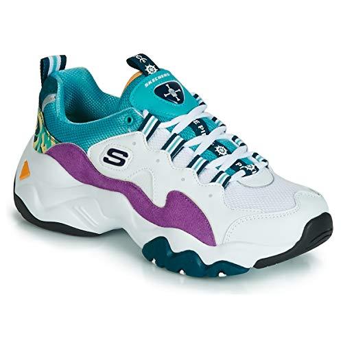 Outlet de sneakers Skechers D'Lites 2 azules baratas