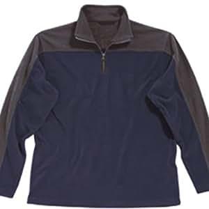 Regatta Lasso Men's Leisurewear Fleece - Navy/Seal Grey, Small