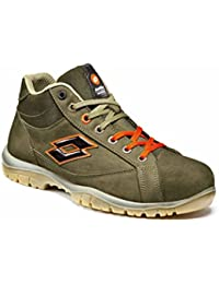Scarpa - Lotto Sprint Line S3 Src - Art. Q8353 - Sprint Mid 801 - Cobble Sand (tg.39)