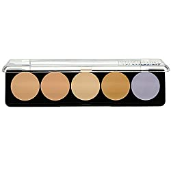5 Camouflage Cream Palette - 2 (Asian Complexions) - 10g/0.35oz