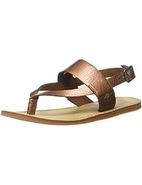 Timberland Damen Carolista Ankle Thongcopper Metallic Knöchelriemchen