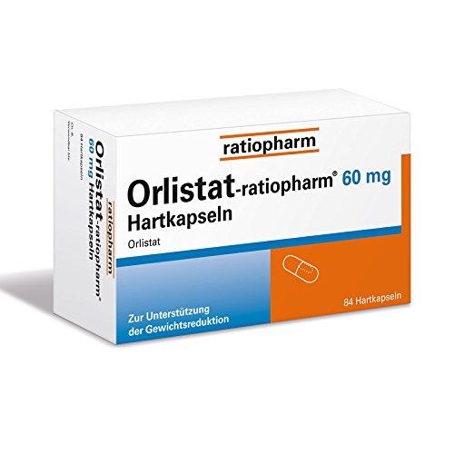 Orlistat-ratiopharm 60 mg Hartkapseln, 84 St. Kapseln