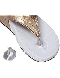 3pares silicona almohadillas de sandalias para los dedos