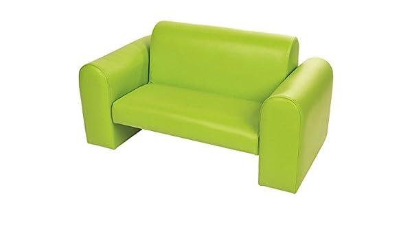 Unbekannt Cosma Sofa Grün Kindersofa Aus öko Leder Sitzhöhe 27 Cm