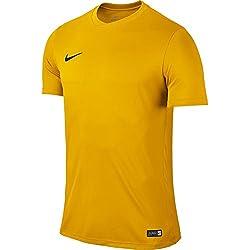Nike Park VI, Camiseta de Manga Corta para hombre, Dorado (University Gold/Black), L
