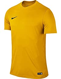 Nike Park VI, Camiseta de Manga Corta para hombre, Dorado (University Gold/Black), XXL