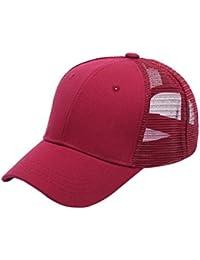 Gorra de béisbol Ajustable Mujeres Cola de Caballo de la Muchacha al Aire  Libre Snapback Caps Mujer… a2bb9dba818