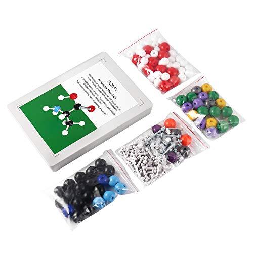 Model Kit 239 PCS, OCDAY Organische und Anorganische Chemie Molecular Model Student Set (86 Atome und 153 Bindungsteile) -Multicolor-1 Grße ()