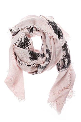 Diesel Unisex Schal Swillot-A Scarf, Rosa (32W 0Taca), One Size Fashion Unisex Schal