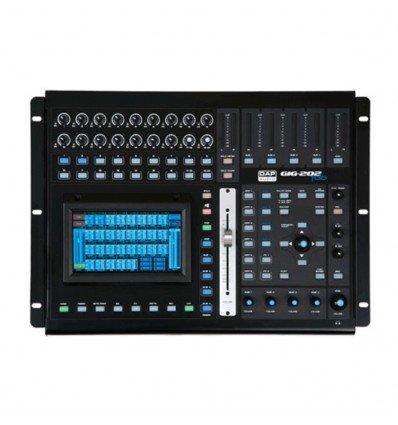DAP-Audio Gig 202Tab 20Canal Digital mesa de mezclas con Dynamics & DSP