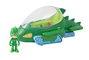 Giochi Preziosi PJ Masks PJM106 vehículo de Juguete - Vehículos de Juguete (Verde, Juego de vehículos, Interior, Niño/niña, China, AAA)