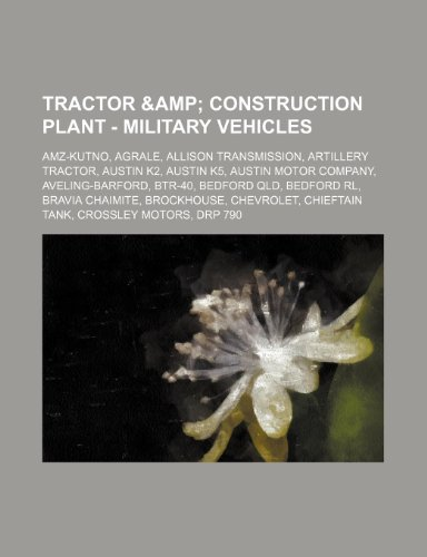 tractor-construction-plant-military-vehicles-amz-kutno-agrale-allison-transmission-artillery-tractor