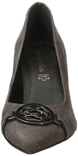 Tamaris 22466, Chaussures Pour Femme Avec Talon Gris (gris)