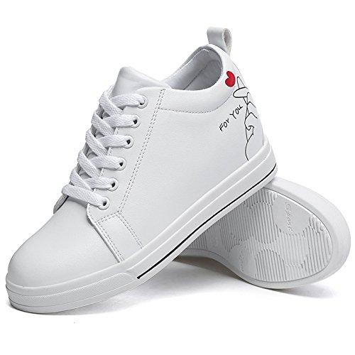 Chaussures Chaussures occasionnels épais blanc épais étudiants coréens sauvages petites verges
