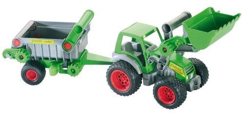 Wader 39172 - Traktor mit Frontlader und Kipper